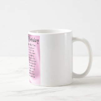Mum Poem  -  65th Birthday Coffee Mug