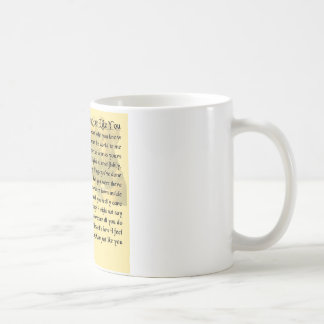 Mum Poem - Boxer Dog Design Coffee Mug