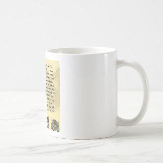 Mum poem  -  Cats Design Coffee Mug