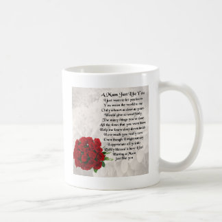 Mum Poem - Red Roses Coffee Mug