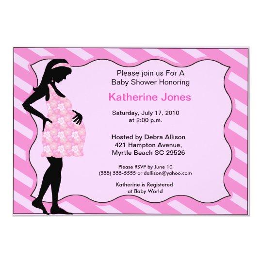 Mum To Be Baby Shower Invitation