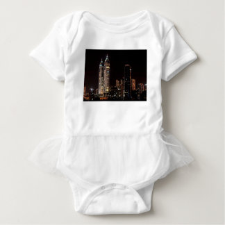 Mumbai India Skyline Baby Bodysuit