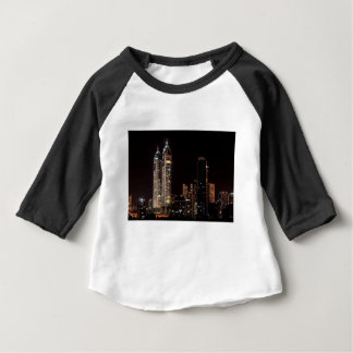 Mumbai India Skyline Baby T-Shirt