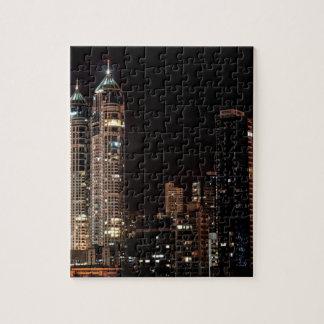 Mumbai India Skyline Jigsaw Puzzle