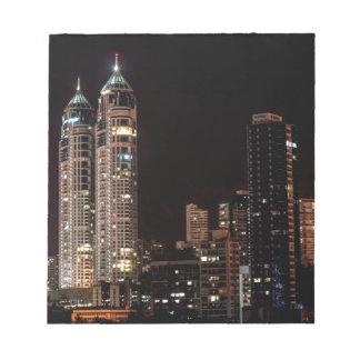Mumbai India Skyline Notepad
