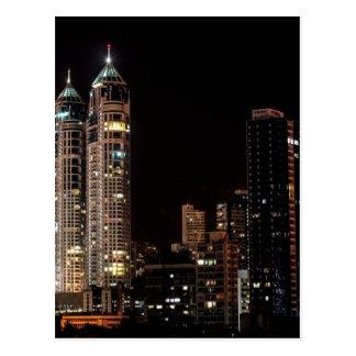 Mumbai India Skyline Postcard