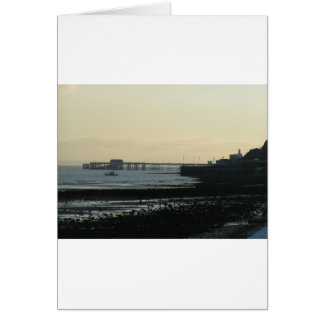 Mumbles Pier Card