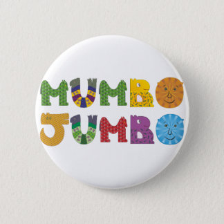 Mumbo Jumbo 6 Cm Round Badge