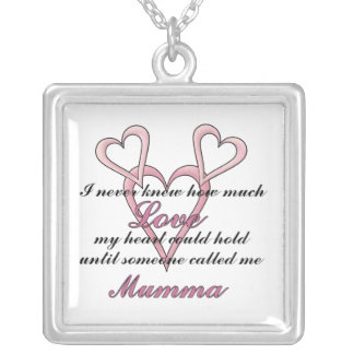 Mumma (I Never Knew) Mother's Day Necklace