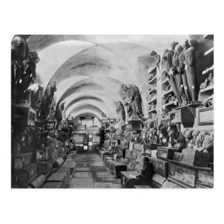 Mummies of catacomb of Palermo, Italy Postcard