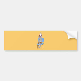 Mummific Pharaoh Bumper Sticker