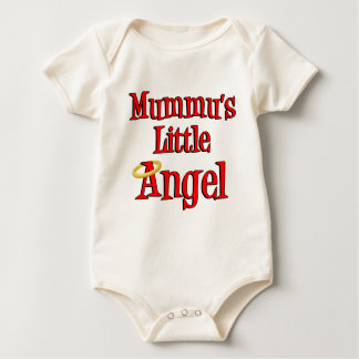 Mummu's Little Angel Baby Bodysuit
