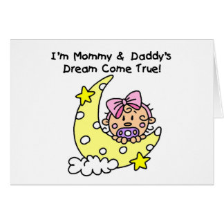 Mummy and Daddy's Dream Tshirts and Gifts Card
