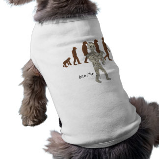Mummy and Evolution Guys, Customize Me! Sleeveless Dog Shirt