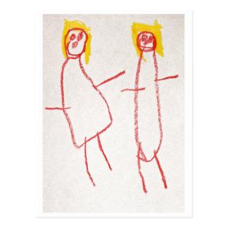Mummy and Me Postcard