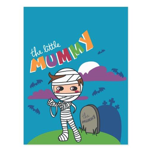 Mummy Boy Post Card