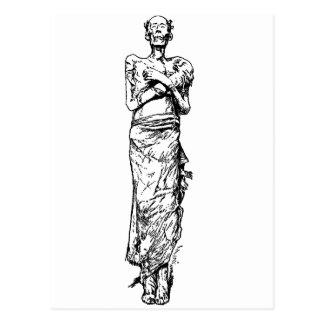 mummy-clipart-1 post card