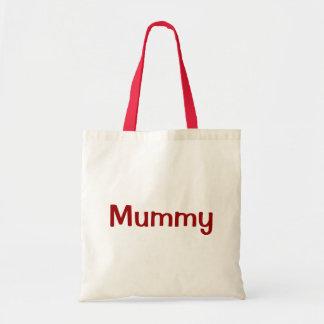 Mummy Deep Red Gift Bag