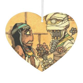 Mummy Flowers - Heart Air Freshener