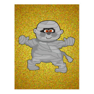 Mummy Greeting Cards Post Card