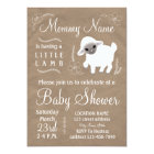 Mummy is having a little lamb! Baby shower invite
