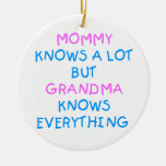 Mummy knows a lot but Grandma know everything