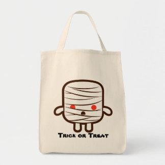 Mummy marshmallow bag