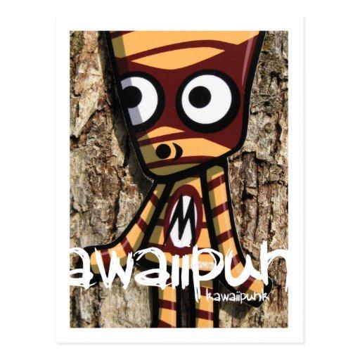 Mummy Mascot Postcard