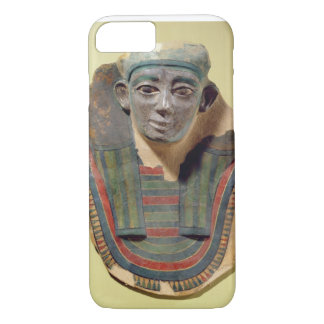 Mummy mask, from Mirgissa (stuccoed and painted pl iPhone 7 Case