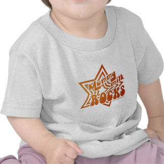 Mummy Milk Rocks Tshirt