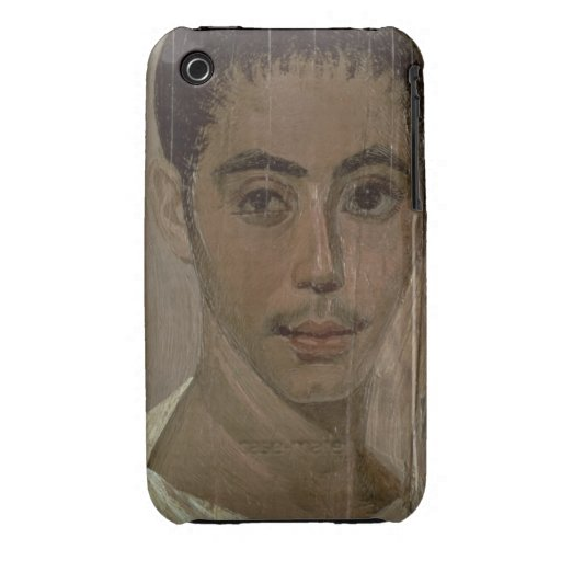 Mummy Portrait of a Boy with an Injured Eye, from iPhone 3 Case-Mate Case