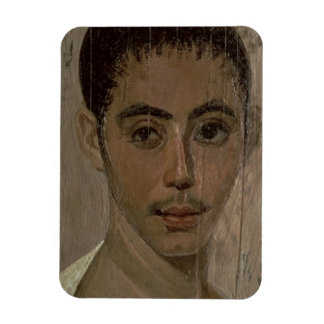 Mummy Portrait of a Boy with an Injured Eye, from Rectangular Photo Magnet