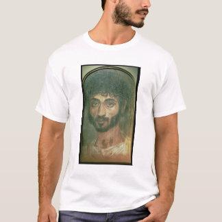 Mummy Portrait of a Man, from Fayum, Romano-Egypti T-Shirt