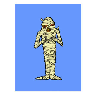 Mummy Post Card