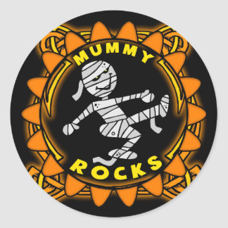Mummy Rocks Sticker