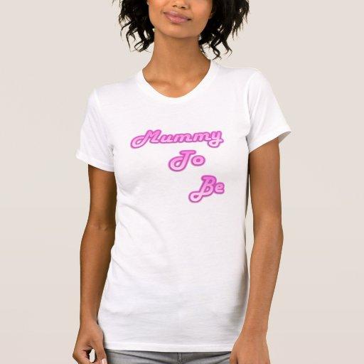 mummy to be tshirt