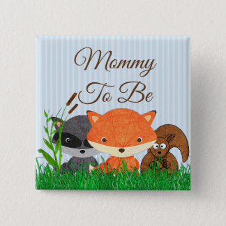 Mummy to be Woodland Creature Forest Animals Pin