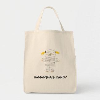 Mummy Trick or Treat Halloween Bag