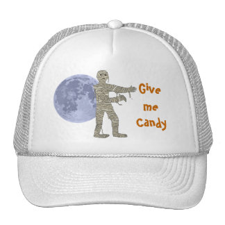 Mummy Walking in the Moonlight. Give me Candy Cap