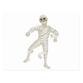 Mummy with Green Eyes Post Cards