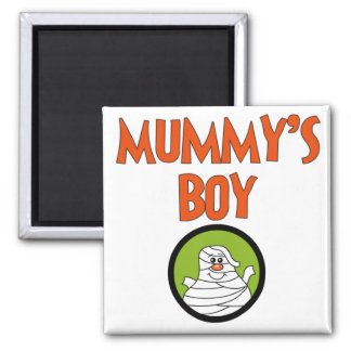 Mummy's Boy Halloween Tshirts and Gifts Magnet