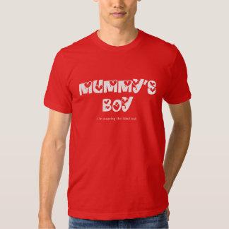Mummy's boy shirt