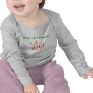 Mummys Lil' Pumpkin-Childs Long Sleeve Tee