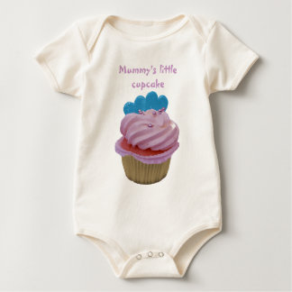 Mummy's little cupcake, baby clothing baby bodysuit