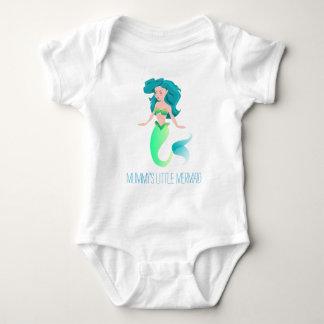 """Mummy's Little Mermaid"" Jersey Bodysuit"