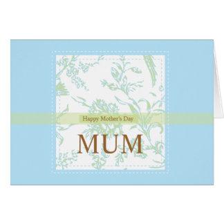 Mums_blue_ellies by Rockeelicious.com Card