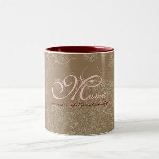 Mums_Brown Celline mug by Rockeelicious