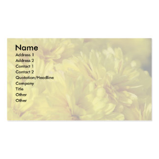 Mums Business Card