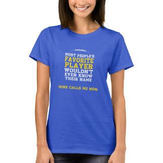 Mum's Favourite Football Player Dark Shirt Y Front