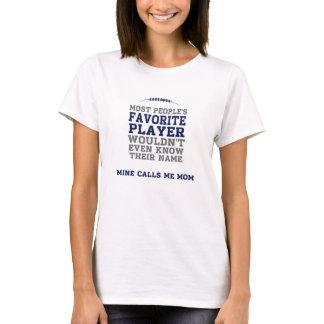 Mum's Favourite Football Player Light Shirt BG Fr